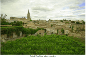 Saint Emilion wine country