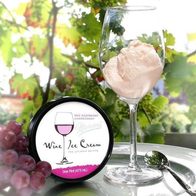 wine ice cream, vegan wine guide