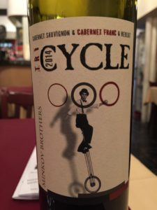 Minkoff TriCycle red blend