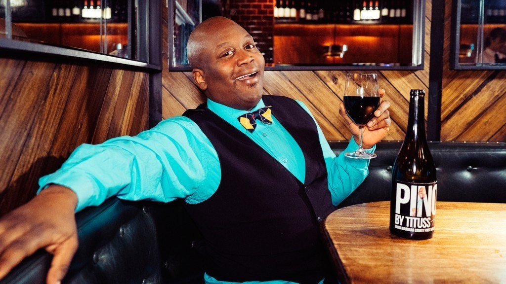 Coming soon to a boudoir near you: Tituss Burgess' Pinot Noir. Photo by: Pinot by Tituss