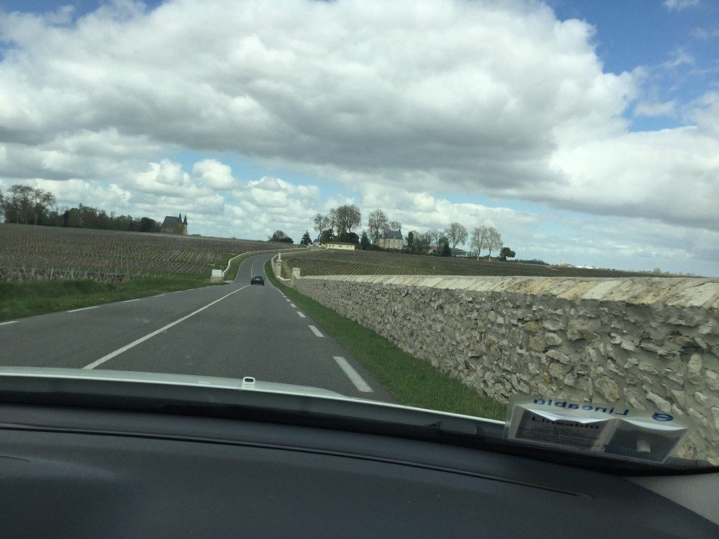 Off to the vineyards of the Médoc